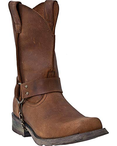 Dingo Men's Axyl Harness Boot Square Toe Tan 13 EE US