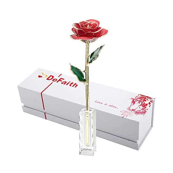 DeFaith-24K-Gold-Rose-Unique-for-Her-Made-from-Real-Rose-Flower-with-Stand