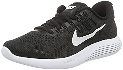 NIKE Men's Shoes Lunarglide 8 Running Sneakers Cool Gray Anthracite 843725 007