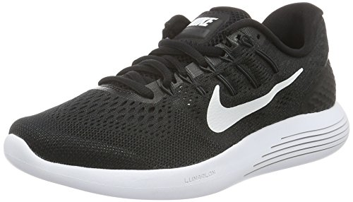 Nike Mens Lunarglide 8 Running Shoes Black/White/Anthracite 843725-001 Size 12