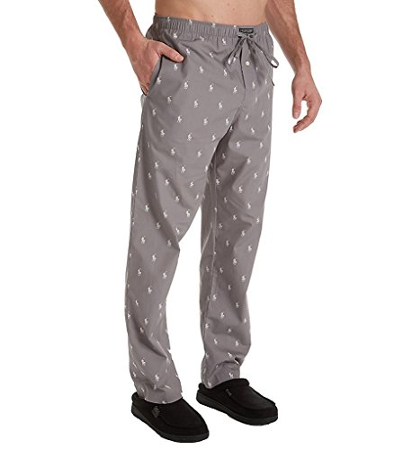 Polo Ralph Lauren Men's All Over Pony Print PJ Pants Marine Grey/Nevis All Over Pony Print Large
