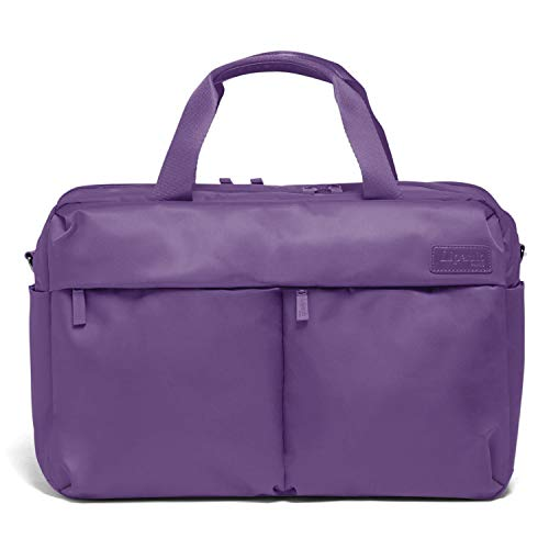 Lipault - City Plume 24H Bag - Top Handle Shoulder Overnight Travel Weekender Duffel Luggage for Women - Light Plum