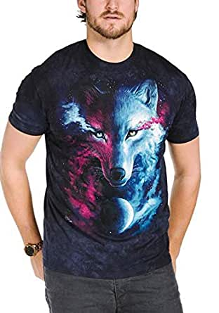 The Mountain Blue Round Neck T-Shirt For Men