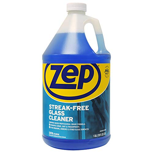 (Zep Available Enforcer ZU1120128 128-Ounce Streak-Free Glass Cleaner Refill)