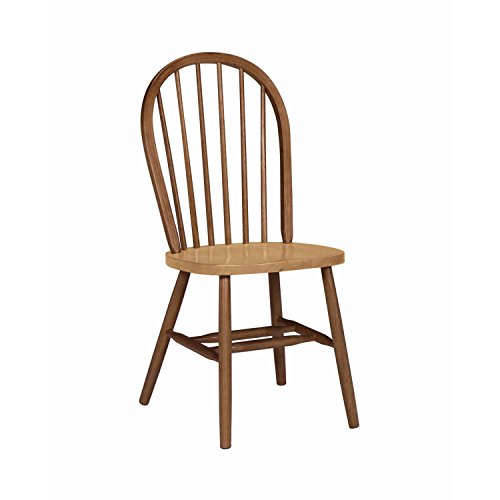 International Concepts 37-Inch High Spindle Back Chair, Cinnamon Espresso