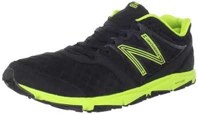 New Balance Men's M730 Athletic Running Shoe,Black/Green,11 2E US