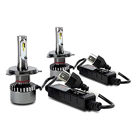 Superlite BOM12401 Kit Bombillas LED H4 6000K 35W: Amazon.es: Coche y moto