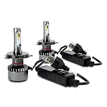 Superlite BOM12401 Kit Bombillas LED H4 6000K 35W: Amazon.es: Coche y moto