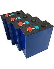 4PCS Lifepo4 3.2V 280AH Battery Lithium Iron Phosphate Cell Solar DIY 12V High Capacity Cells Pack New Power Battery EU Tax Free,4pcs