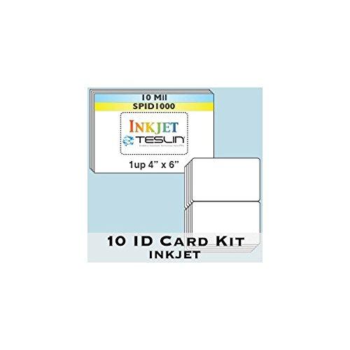 Teslin ID Card Kit Credit Card product image