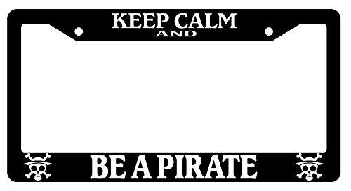 pirate license plate frame - 6