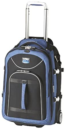 Travelpro Luggage T-Pro Bold 22 Inch Expandable Rollaboard Bag, Black/Blue, One Size