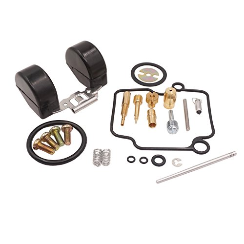 Hwbnde Carburetor Rebuild Carb Repair Full Kit for Mikuni VM22 26mm Carb YBR125 JYM125 Pit Dirt Bike (Main Jet #95, Slow Jet ()