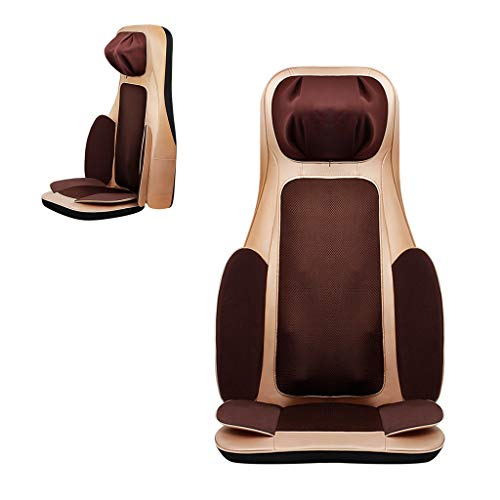 (Back Massagers Massage Cushion Cervical Massager Electric Massage Chair Home Body Kneading Massage Cushion Multi-Functional Pillow Cushion Cushion Parent's Gift)