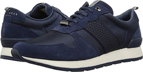 Ted Baker Men's HEBEY Sneaker, Dark Blue, 10 M US ()