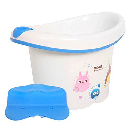 Peekaboo Deluxe Baby Bathing Tub Set (Includes a chair and a toy) by Bonohouse