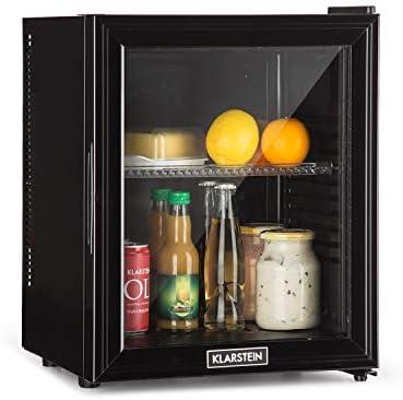 Klarstein 10032778 Mini-Kühlschrank/A/ 136 kWh/Jahr/ 47 cm/ 24 liter Kühlteil/Minibar/Schwarz