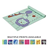 Gaiam Kids Yoga Mat Exercise Mat, Yoga for Kids with Fun Prints – Playtime for Babies, Active & Calm Toddlers and Young Children (60″ L x 24″ W x 3mm Thick)