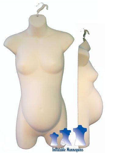 Fleshtone Female 3/4 Maternity (Saveon Crafts)