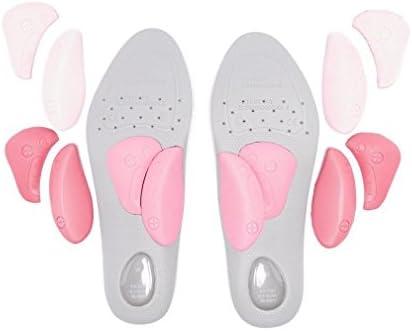 Womens Thin Style Einlegesohlen Pink
