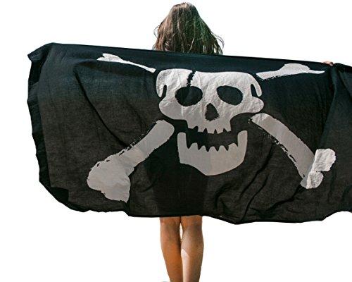 Arazzo Mandala da Abito Copri Nero da Bagno Sarong Estivo Fascia Costumi Pareo Piscina Bohemien Pirata Bikini Sciarpa Coperta Attaccapanni Spiaggia in SwqUdqC