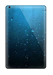 Tpu Fashionable Design Water Drops On Glass Rugged Case Cover For Ipad Mini/mini 2 New
