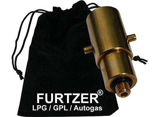 Furtzer/® LPG GPL Autogas Tankadapter M10 BAJONETT kurz mit Stoffbeutel