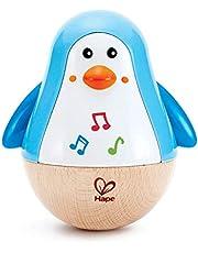 Hape Wobbling Melody Penguin Musical Instrument, Multicolor, 5'' x 2''