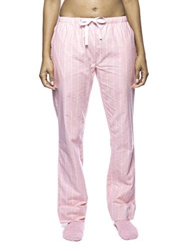 Premium Flannel Lounge Pant - Stripes Pink - Large ()