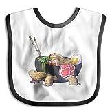 five brothers bib overalls - XHX Baby's Ramen Tortoise Saliva Towel Bibs Burp Cloths