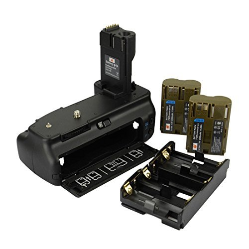 DSTE Pro BG-E2N Vertical Battery Grip + 2x BP-511 Battery for Canon EOS 40D 20D 30D 50D SLR Digital Camera