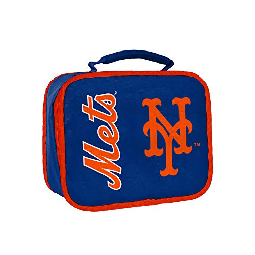 Officially Licensed MLB New York Mets Sacked Lunchbox, 10.5-Inch, Royal