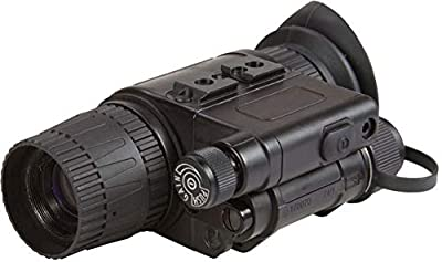 """Armasight NSMNYX14M5G9DA1 Model MNVD-51 3G Gen 3""""Ghost White Phosphor Multi-Purpose Night Vision Monocular, 1x Magnification, 51° Field of View, Focus Range 0.25m to Infinity, 17mm Eye Relief from FLIR Systems, Inc"""