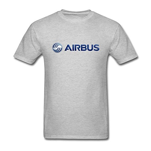 l Xxxx Adelaide Grey Short shirt Judith T Airbus Logo Sleeves Homme's wqrzOwF8g