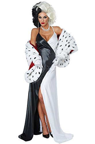 California Costumes Women's Cruel Diva Adult Woman Costume,