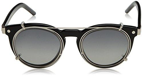 a693ee934cb70c Marc Jacobs Marc 18 S UR Z07 47, Montures de Lunettes Mixte Adulte, Noir  (Nero)  Amazon.fr  Vêtements et accessoires