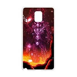 Samsung Galaxy Note 4 Cell Phone Case Covers White galactus Phone cover Y4450084
