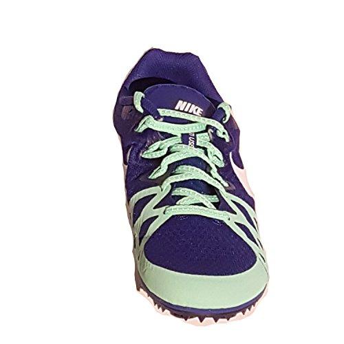 Nike 806559-413 - Zapatillas de senderismo Mujer Azul (Deep Royal Blue / White-Green Glow)