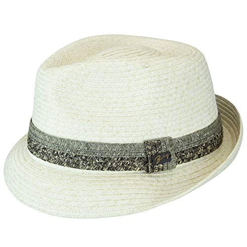 Bailey of Hollywood Mens Pelly Braided Fedora Trilby Hat