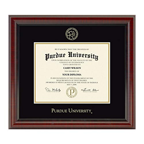 M. LA HART Purdue University Masters/PhD Diploma Frame, The Fidelitas
