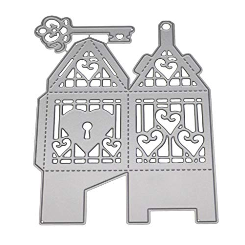 Metal Cutting Dies Embossing Stencil Template for DIY Scrapbook Album Invitation Card Craft ()