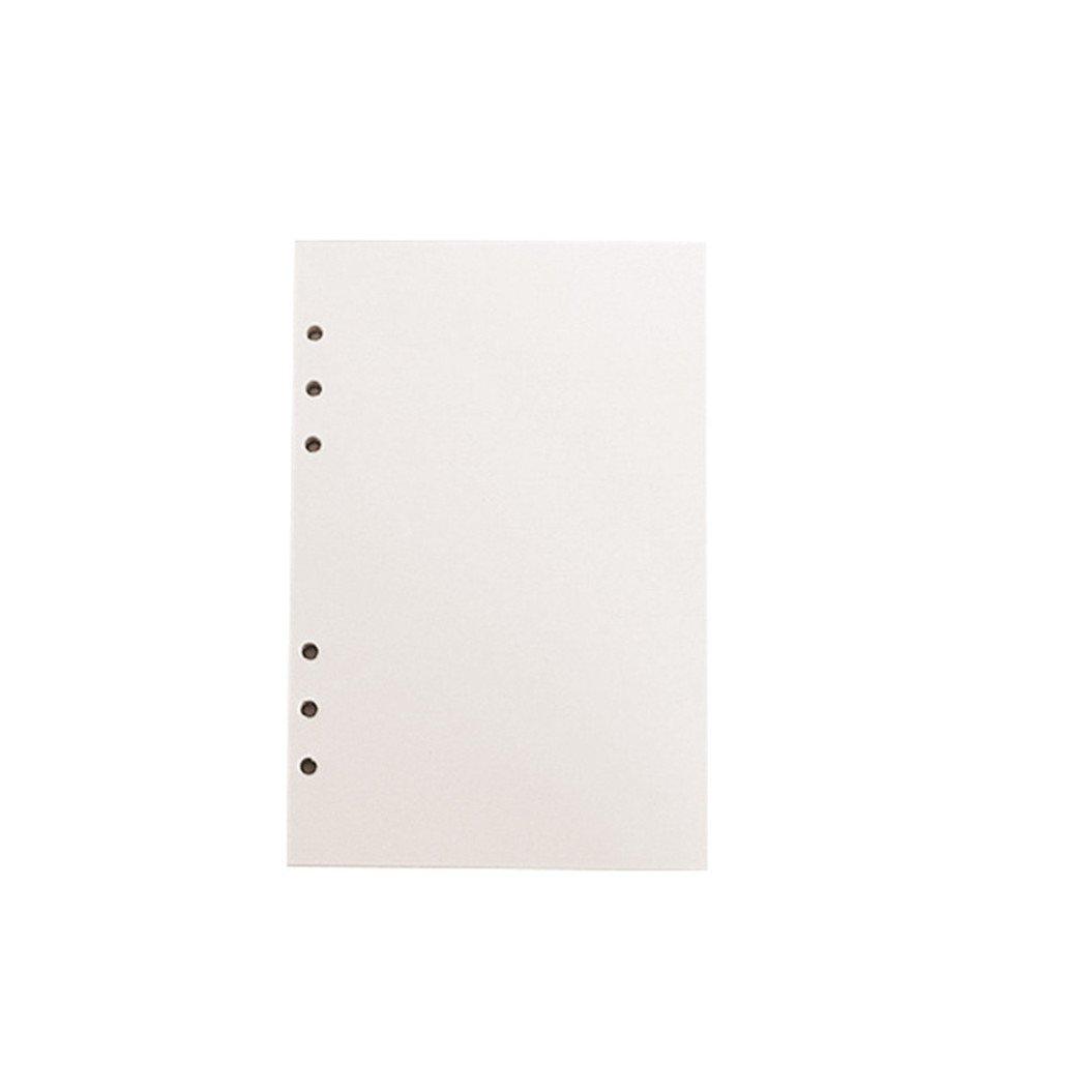 DISPLAY0840fogli di riempimento Papers loose-leaf notebook 6fori ufficio scuola forniture A5 Purple