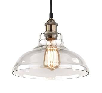 Pendant Light Fixture - 11 inch diameter - Vintage
