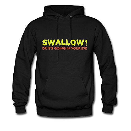 LFD Swallow Adult Graphic Pocket Hoodie Sweatshirt S Black