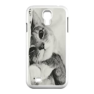 Custom Colorful Case for SamSung Galaxy S4 I9500, Cat Cover Case - HL-701932
