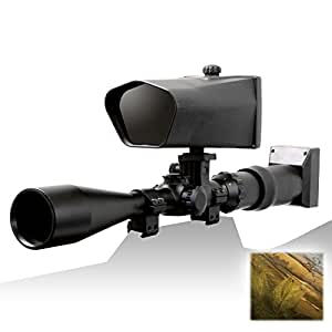 NiteSite Eagle 550 Yards Identification Range Scope Mounted Night Vision System for Zero Light Hunting (Black, Full Kit) (RealTree)