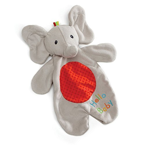 "(Baby GUND Flappy the Elephant Lovey Plush Stuffed Animal Blanket and Puppet, 11.5"")"