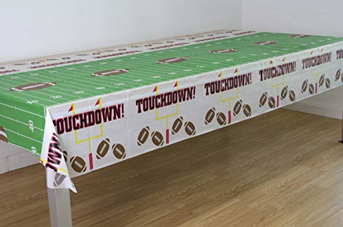 """3 Pack Game Day Football Tablecover 54""""x108"""""""