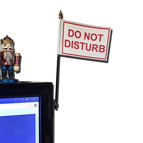 Do Not Disturb Desk Flag With Flag Up Flag Down 360 Clip