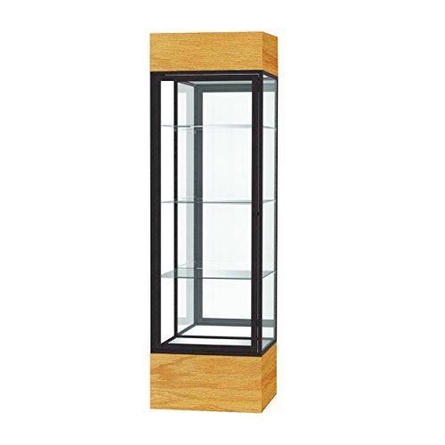 Frame Waddell Aluminum (Waddell Keepsake Floor Display Case with Lighted Cornice, 24